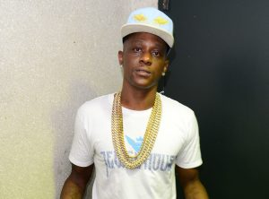 Lil Boosie backstage during the TD2CH Tour at the James L Knight Center Featuring: Lil Boosie Where: Miami, Florida, United States When: 19 Jul 2014 Credit: Johnny Louis/WENN.com