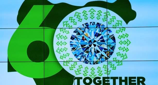 Buhari Unveils Nigeria at 60 Logo